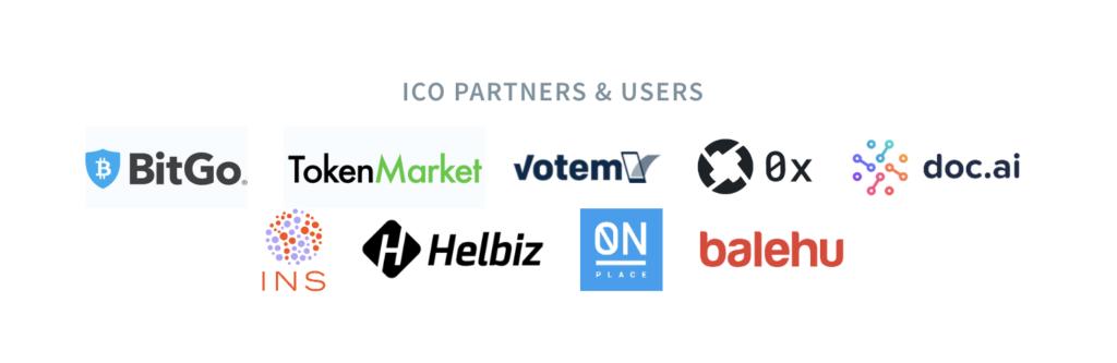 ICO Partners & Users